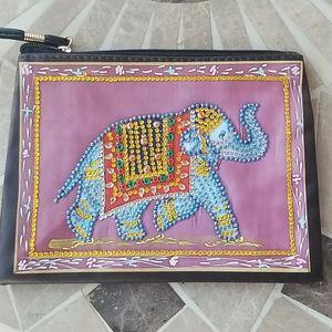 Jeweled Elephant Wristlet nwot
